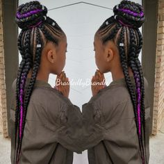 35 Stunning Feed in Braids Hairstyles To Try This Year! 35 Stunning Feed in Braid Box Braids Hairstyles, Lil Girl Hairstyles, Black Kids Hairstyles, Kids Braided Hairstyles, Pretty Hairstyles, Black Girl Braids, Braids For Black Hair, Girls Braids, Braids For Black Kids