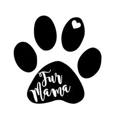 Fur Mama Vinyl Decal Fur Mom Car Laptop iPhone Yeti