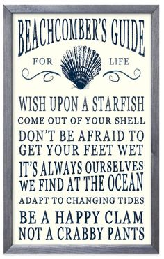 Ocean Beach Advice Sign: http://ocean-beach-quotes.blogspot.com/2015/10/ocean-beach-advice-sign.html