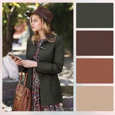 Look color for spring Colour Combinations Fashion, Color Combinations For Clothes, Fashion Colours, Colorful Fashion, Color Combos, Fall Color Palette, Colour Pallete, Style Casual, My Style