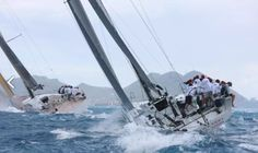 TP52 Conviction. Yacht racing in the Caribbean www.sailracecrew.com