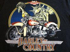 Vintage 1990 HARLEY DAVIDSON 3D Emblem Tshirt/ by sweetVTGtshirt, $125.00