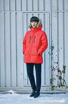 PUMA 2015 Winter X JIN Special [151104] | btsdiary