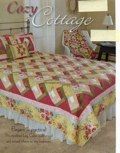 Cozy Cottage Quilt Pattern Pieced ME