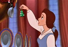 Beauty and the Beast: The Enchanted Christmas. I'm not much for sequels but I enjoyed this one. :)