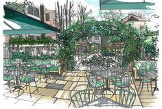 The Ivy Chelsea Garden Visual