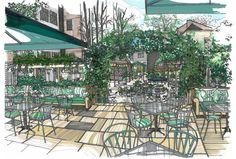 The Ivy Chelsea Garden -alfresco dining