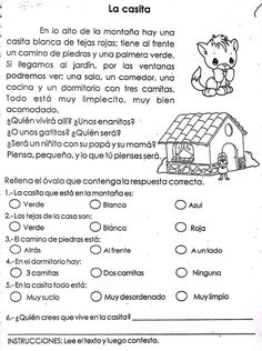 Easy Reading for Reading Comprehension in Spanish - December Set Spanish Lesson Plans, Spanish Lessons, Learn Spanish, Spanish Teaching Resources, Teacher Resources, Spanish Classroom Activities, Spanish Language, Speech And Language, Dual Language Classroom