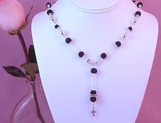 Welcome to ...: Rose Petal Jewlery and Rosaries -- Products