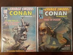 Book Haul/Spotlight – The Savage Sword of Conan the Barbarian #4 and #5 – Mighty Thor JRS – Fantasy Book News & Reviews