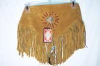 Handmade Plus Size Suede Fringe Beaded Western Cowgirl Belt Rodeo Powwow Regalia $20.00  #TEAMSELLIT#