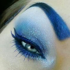 Dark ice queen blue eyes More