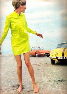 G E N E R I C   theswinginsixties: '60s mod fashion in lime...