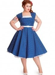 Hell Bunny – Judy 50′s Dress (Plus Only) | Rosie The Rebel Boutique