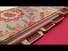 Cómo hacer pestañas separadoras para agendas, cuadernos y libretas. TUTORIAL