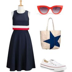 """""""4th of July Style"""" by fashionforgiantsblog on Polyvore"""
