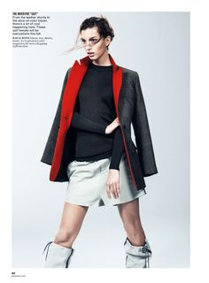 visual optimism; fashion editorials, shows, campaigns & more!: future perfect: kate king by sebastian kim for us glamour july 2014