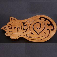 Sleeping Cat Trivet £27.50