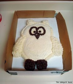 Owl Cake :) AHH I WANT THIS FOR MY BIRTHDAY. GET ME THIS. PLEASE. I WILL LOVE YOU FOREVER AND EVER.