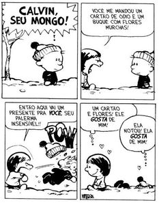Better love story than Twilight ~ Calvin and Susie (from Calvin & Hobbes) Funny Cartoons, Funny Comics, Funny Jokes, Hilarious, Calvin And Hobbes Quotes, Calvin And Hobbes Comics, Funny Cute, The Funny, Bd Comics