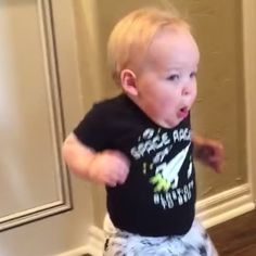 Grandpa Scares the Living Daylights Out of His Grandson — See His Priceless Reaction!