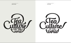 Tea Culture of the World logotype | Designer: Martina Flor
