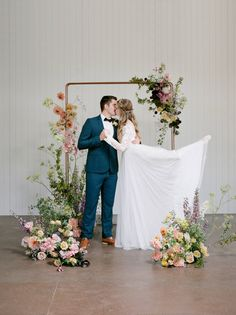 Romantic bride and groom kiss under ceremony arch decorated with spring flowers | The Ballerina's Reverie: graceful & elegant wedding inspiration | Melbourne Wedding Inspiration - Photographer: LENA LIM PHOTOGRAPHY - Magnolia Rouge: Fine Art Wedding Bog Ceremony Arch, Wedding Ceremony, Melbourne Wedding, Bridesmaid Dresses, Wedding Dresses, Spring Flowers, Elegant Wedding, Magnolia, Ballerina