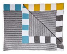Stripes! Grey - Sunday Ganim blanket #incy interiors #dream children's room