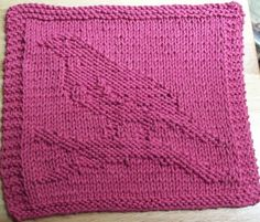Wash cloth knit pattern More