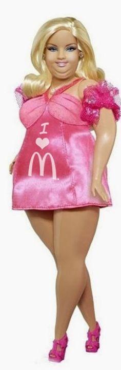 (via McDonalds Fat Barbie Doll   Funny Joke Pictures)