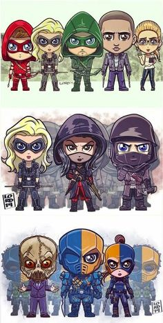 Team Arrow + Team League of Assasins vs Team Deathstroke