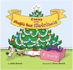 Christmas Personalized Book  Holiday Children's Book by Frecklebox