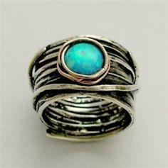 What Would Khaleesi Wear?Eye of Ocean Ring (X)