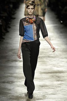Dries Van Noten Fall 2008 Ready-to-Wear Collection on Style.com: Complete Collection