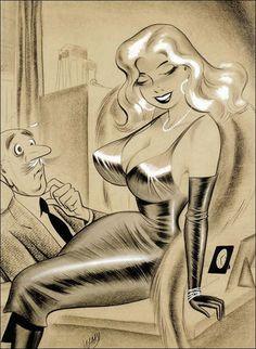 artiste bill ward pin up - Page 2 Bill Ward, Girl Artist, Art Girl, Vintage Comics, Vintage Art, Line Art, Poster Prints, Art Prints, Sexy Cartoons