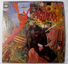 Santana - ABRAXAS LP 1970 CBS / COLUMBIA HECHO EN VENEZUELA