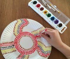 dot12 Aboriginal Art For Kids, Aboriginal Education, Aboriginal Dot Painting, Indigenous Education, Aboriginal Culture, Aboriginal Dreamtime, School Age Activities, Childcare Activities, Early Childhood Activities