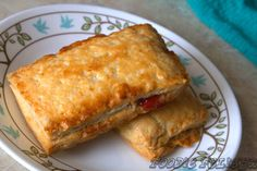 Homemade Toaster Strudel with coconut oil instead of butter....Finally, a healthy alternative!