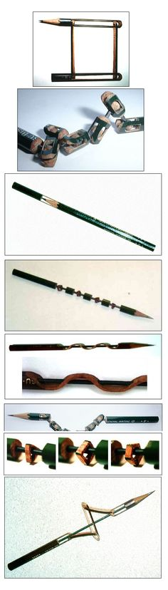 Pencil Carvings....