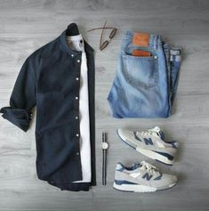 Moda Hombre Casual Ideas Outfit Grid 26 New Ideas Rugged Style, Casual Outfits, Men Casual, Fashion Outfits, Fashion Shoes, Trendy Fashion, Mens Fashion, Covet Fashion, Style Fashion