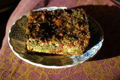 Quajado, or thick Fritada, of beet greens, with cheese and matzo meal. — The Boreka Diary