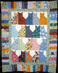 Make A Pins And Paws Cat Quilt With Jenny Doan Cat