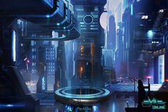 Central Promenade concept image