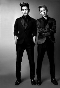 Dongwoo and Hoya