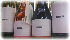 M1.Crama Atelier - Patru membri ai colectiei Arezan. Din imagine lipseste Babeasca Neagra :). #cramaatelier #arezan Wine, Drinks, Bottle, Atelier, Drinking, Beverages, Flask, Drink, Jars