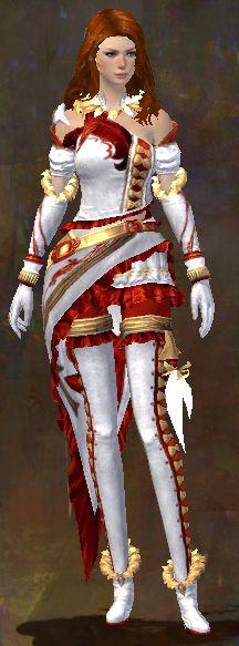 Exalted armor human female