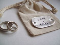 ring bag with names