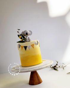 Boy Baby Shower Themes, Baby Shower Cakes, Dad Birthday Cakes, Baby Birthday, Australia Cake, Sloth Cakes, Animal Cakes, Just Cakes, Sugar Craft