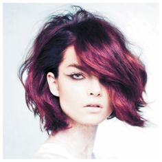 Deep purple shot through with glimmers of hot pink and dark rose creates a luxurious fashion shade. Bright tones can sometimes look flat and one-dimensional, but this beautiful blend is as faceted ...
