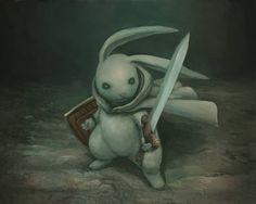Rabbit Warrior!